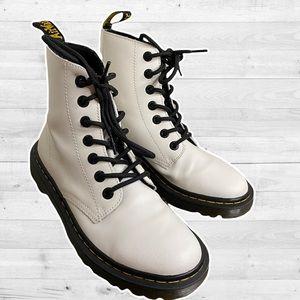 Dr. Martens White Luana Boots